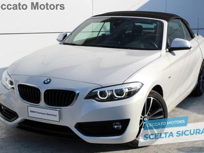 BMW Serie 2 218d Cabrio Sport